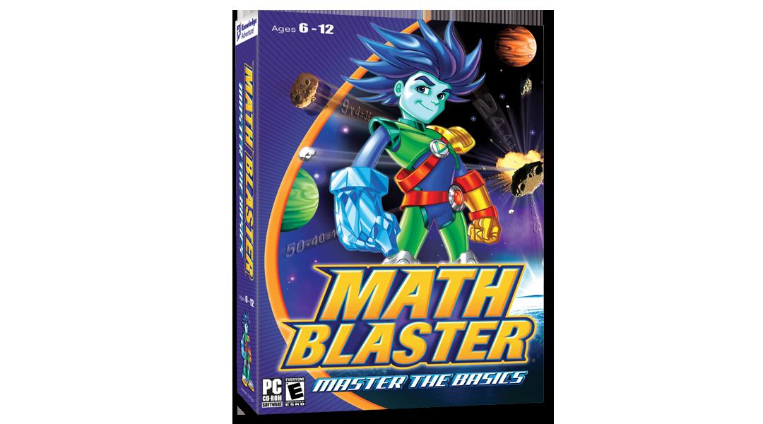 Math Blaster Box