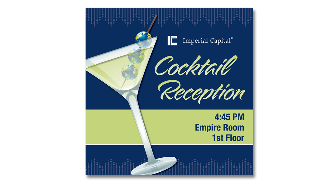 cocktail party sign